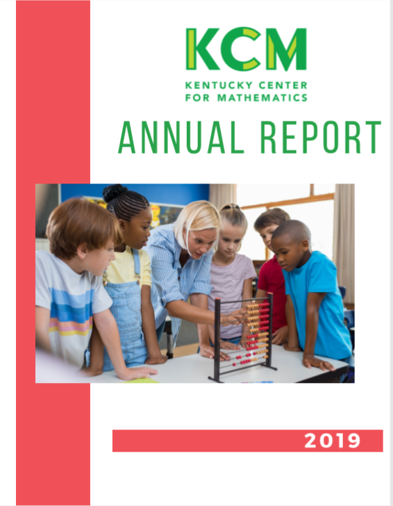 2019 KCM Annual Report cover