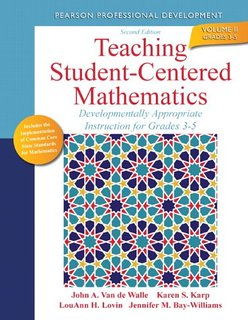 Teaching Student-Centered Mathematics 3-5 book