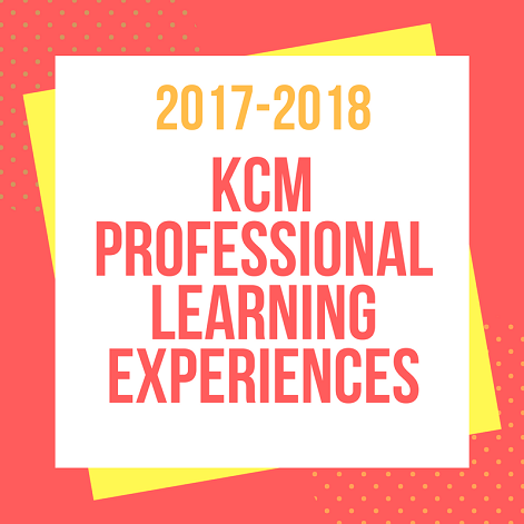 Announcing our 2017-28 professional learning experiences