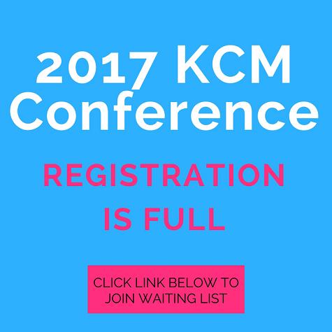 2017 KCM Conference Registration Is Full