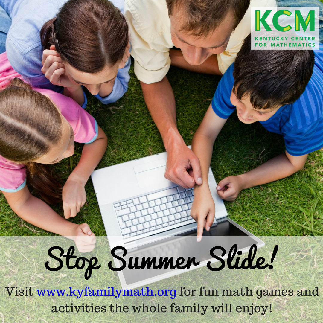 Stop summer slide with kyfamilymath.org
