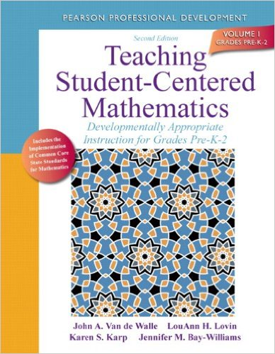 Teaching Student-Centered Mathematics K-2 Cover